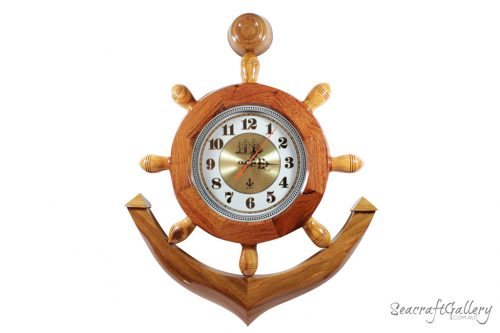 Anchor_clock wooden