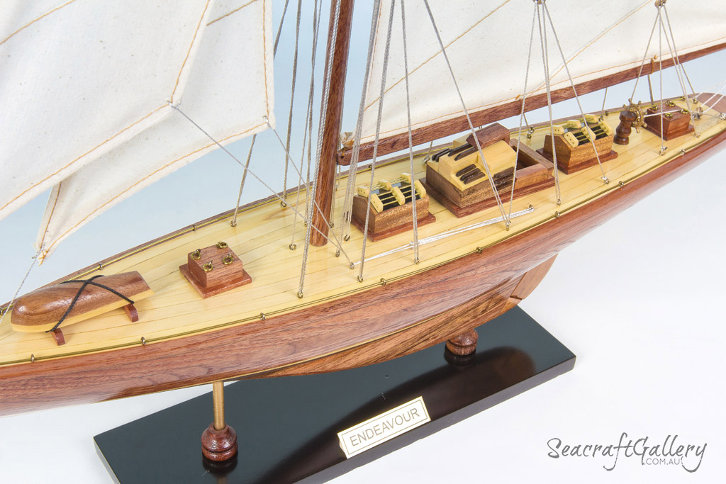Timber Endeavour Model Sailing Ship | Wooden sailing boats ...