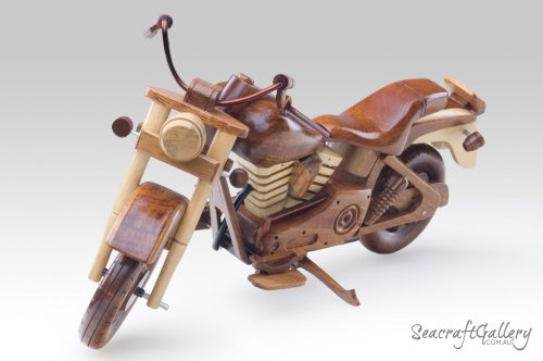 Fatboy Harley motorbike 1