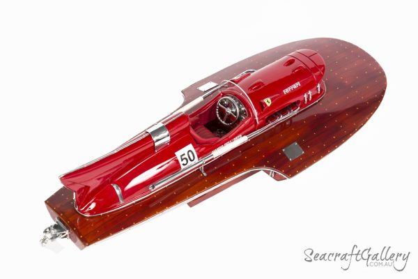 Ferrari Hydroplane Model Ship 50cm 4