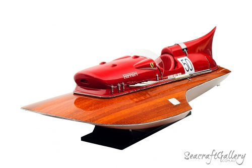 Ferrari model boat 2
