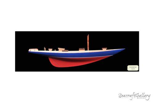 HH-Rainbow model||Half Hull Rainbow Model 1