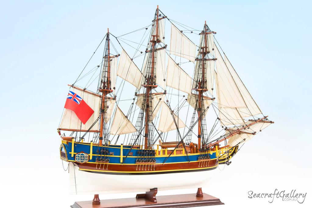 HMS Bounty Model Ship 2