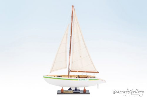 Australia II sailing yacht model