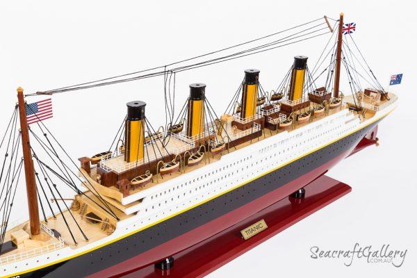 RMS Titanic Model cruise 80cm 2018 (8)