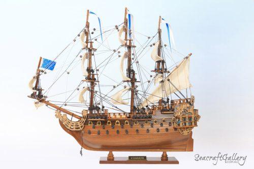 Soleil Royal 40cm Model Ship 8