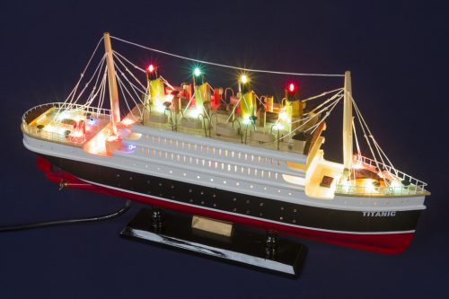 Titanic 40cm with light Model cruise 8