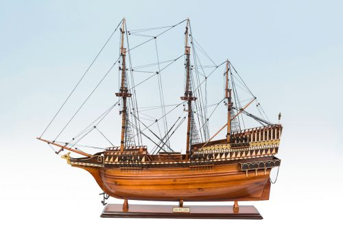 Golden Hind Model Ship 95cm | Pre-Built Wooden Model Ships for Sale