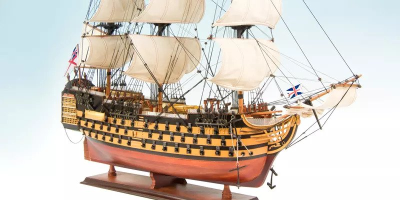 Museum quality HMS Victory ship models | Seacraft Gallery - Sydney store