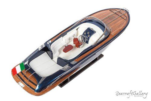 Rivarama Blue Model boat 70cm 4