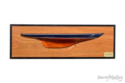 Endeavour Half Hull Ship Models 1934 - 90cm | Half Hull Models for Sale