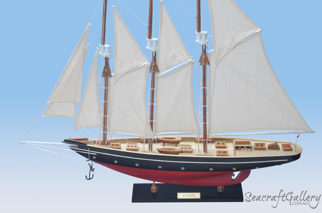 Atlantic 60cm model yacht - Free shipping