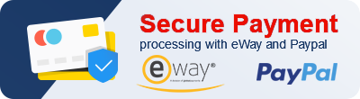 Secure payment processing with eWay and Paypal