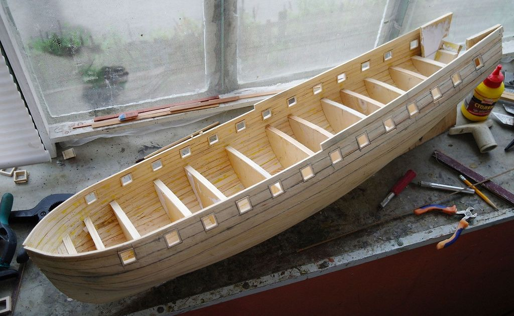 The Art of Building Wooden Model Ships