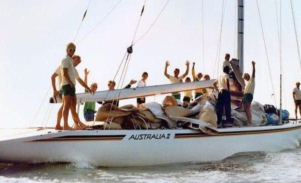 Australia II sailing yacht winner