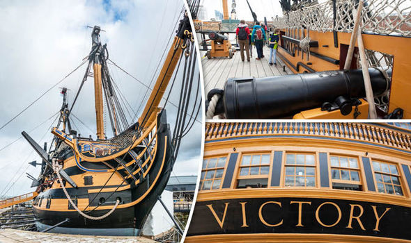 10 fascinating facts about the HMS victory the oldest commissioned ship