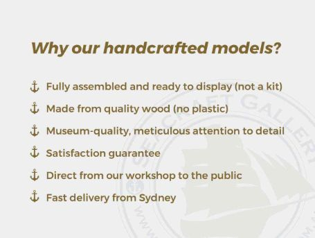 Why our handcrafted models?