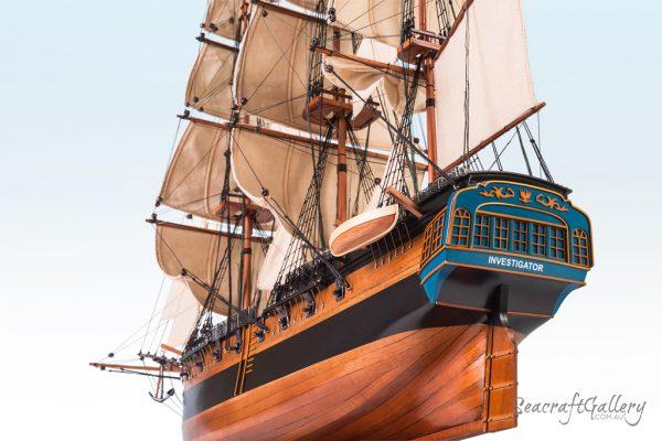 Investigator model ship 85cm 19