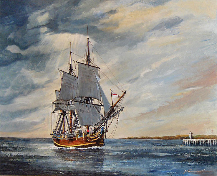 Why HMS Bounty Sank and Her Replicas in Popular Movies