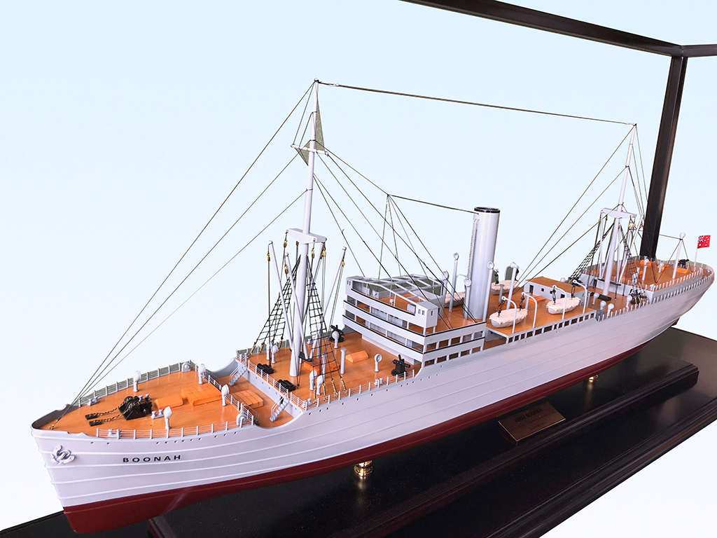Boonah custom model ship