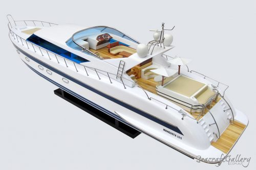 Mangusta motor yacht model