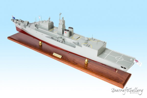Anzac FFH150 battleship Model
