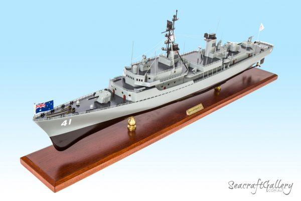 Wooden Battleship Models | HMS Brisbane Model Warship for Sale