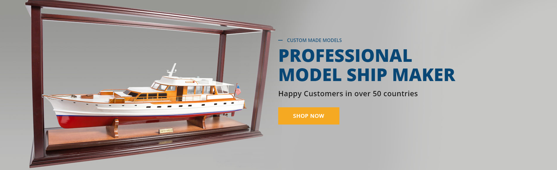 Professional Model Ship Builders | Handcrafted Model Ships | Seacraft Gallery