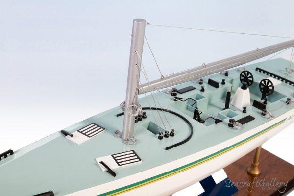 Australia II raching yacht model