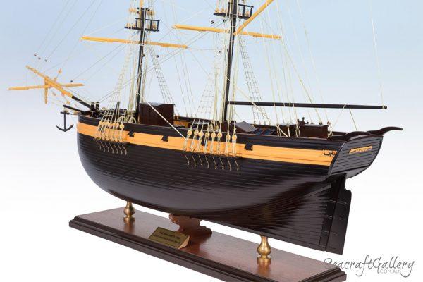 Brig Amity model ship