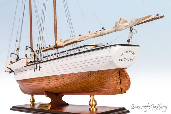 Schooner Equator model ship