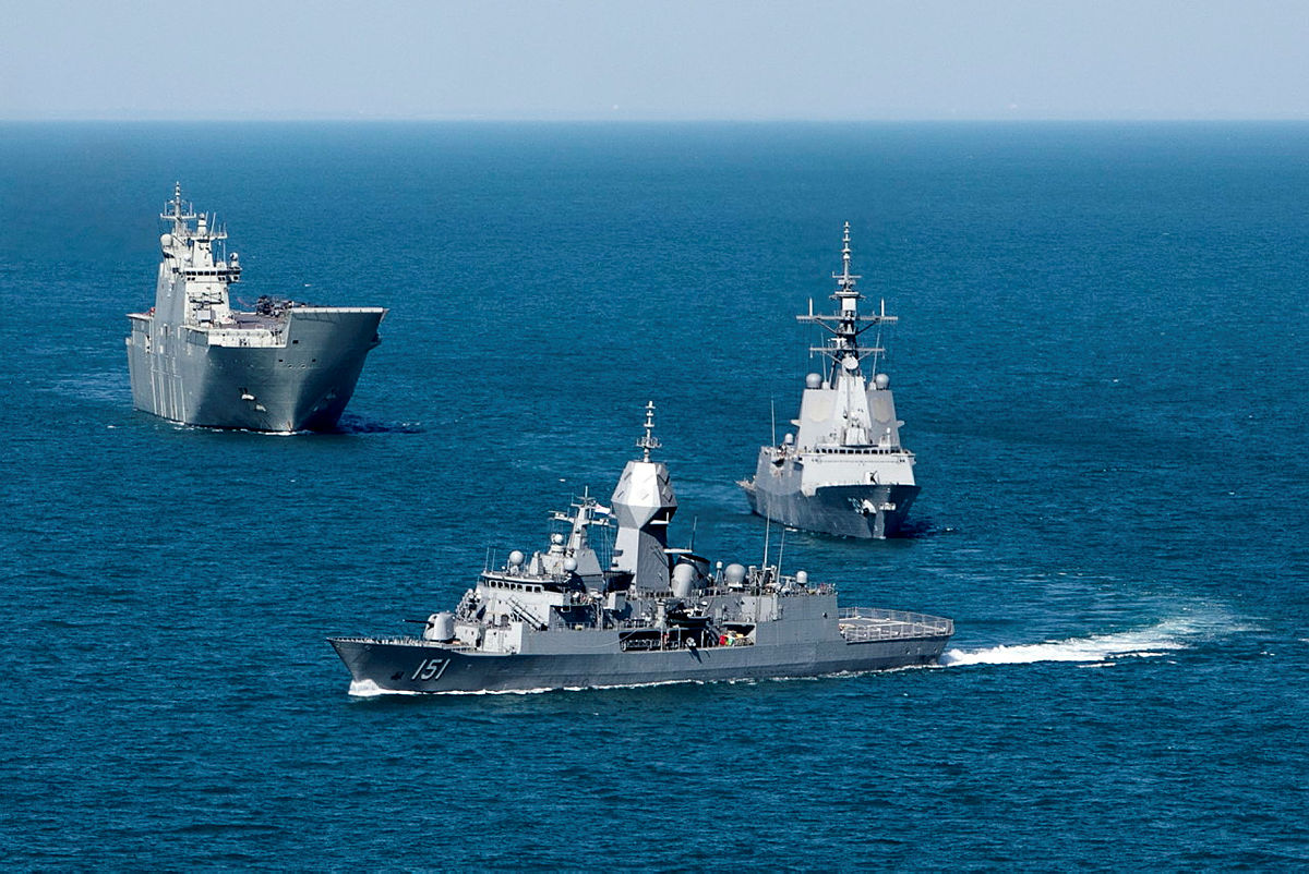 The Royal Australian Navy Fleet