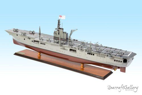 HMAS Melbourne aircraft carrier model