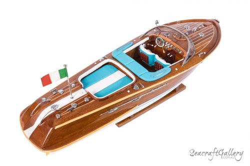 Wooden Riva Classic Model boat