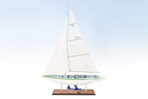 Detailed Australia II Model Yacht 60cm