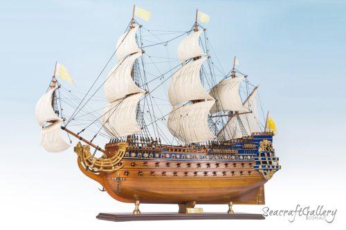 le Soleil Royal Model Ship 95cm (19)