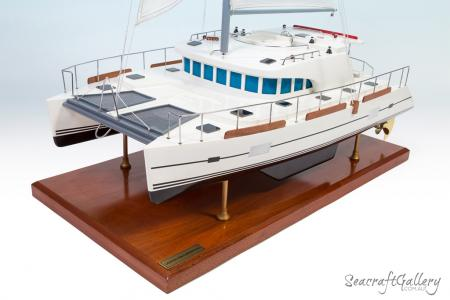 Lagoon Catamarans 440 super yacht model