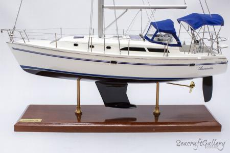 Catalina 34 MK II Cruising Yacht Model