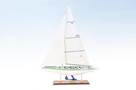 Detailed Australia II sailboat models 40cm