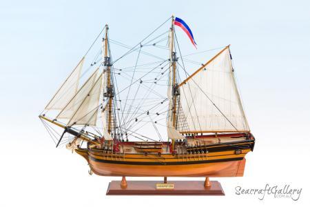 HMS Supply Model Ship - The First Fleet