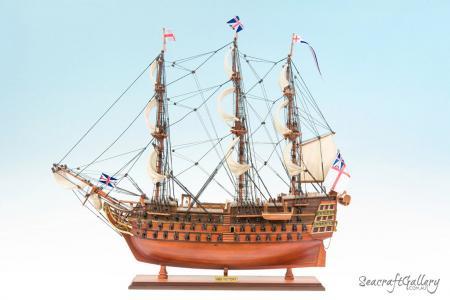 HMS Victory 75cm Model Ship 11