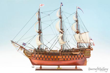HMS Victory 95cm Model Ship 11