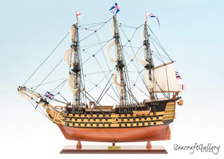 HMS Victory painted 75cm Model ship 8