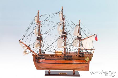 Endeavour Model Ship - Seacraft Gallery