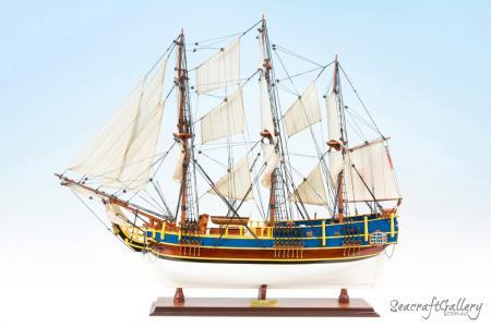 HMS Bounty Model Ship 1787- 75cm | HMS Bounty Wooden Ship Model