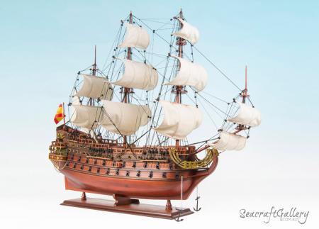 San Felipe Model Ship 4