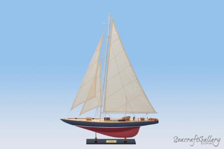 Rainbow model sailing yacht