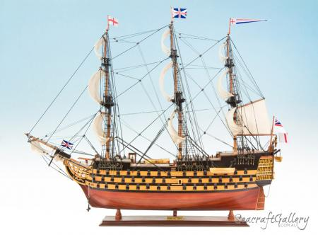HMS Victory 95cm painted model ship 4