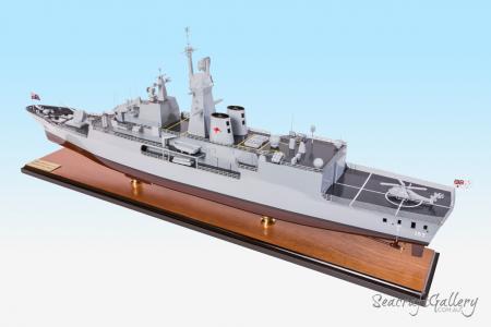 HMAS Perth model warship