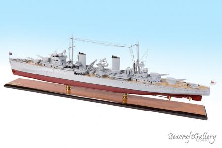 HMAS Sydney model warship